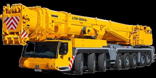 LTM 1500-8.1 - 500t Liebherr