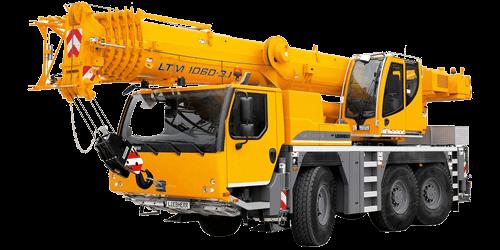 LTM 1060-3.1 – 60t Liebherr